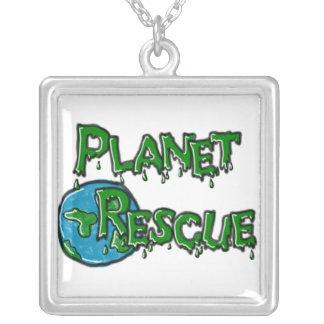 Collar del rescate del planeta