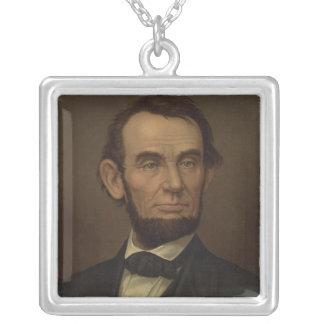 Collar del retrato de Abe Lincoln