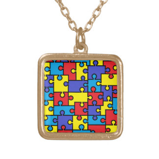 Collar del rompecabezas del autismo