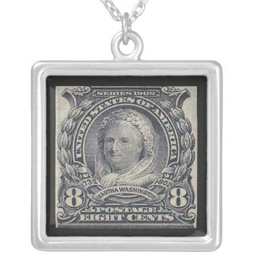 Collar del sello de Martha Washington