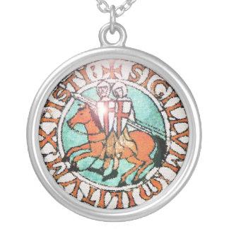 Collar del sello de Templar de los caballeros