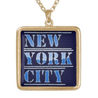 Collar del símbolo del dinero de New York City Bli