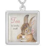 Collar del té del pequeño conejo de Beatrix Potter