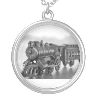 Collar del tren del metal del vintage