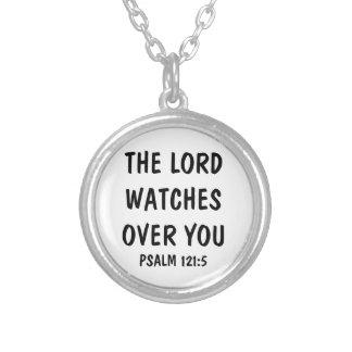 Collar del verso de la biblia del salmo