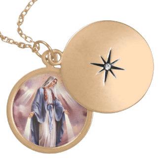 Collar del Virgen María