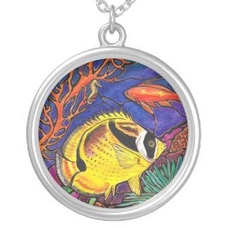 """Collar del """"vitral"""" de los Butterflyfish del mapac"""