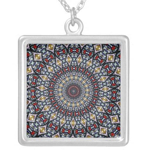 Collar del vitral Kaleidoscope3