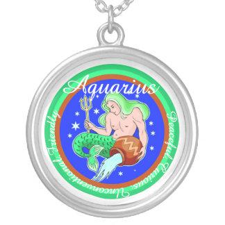 Collar del zodiaco del acuario