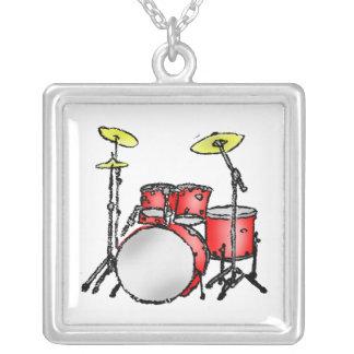 Collar determinado del tambor