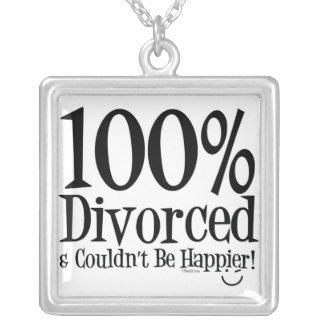 Collar divertido del divorcio