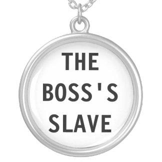 Collar el esclavo de Boss