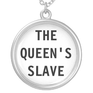 Collar el esclavo de la reina