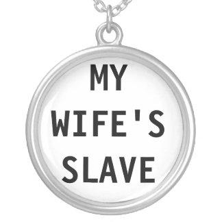 Collar el esclavo de mi esposa