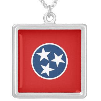 Collar elegante con la bandera del Tennessee