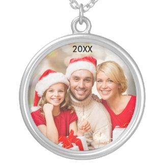 Collar elegante del navidad de la foto de la