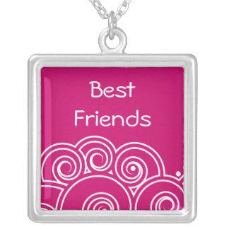 Collar encantador de los mejores amigos del remoli