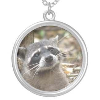 Collar enmascarado de la plata esterlina del mapac