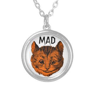 Collar enojado del gato de Cheshire (calabaza de P