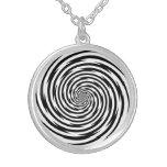 Collar espiral de la hipnosis