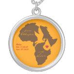 Collar etíope del regalo del recuerdo de la adopci