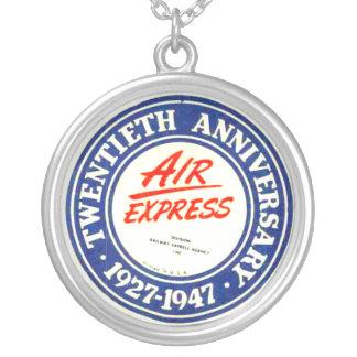 Collar expreso del aniversario de aire vigésimo