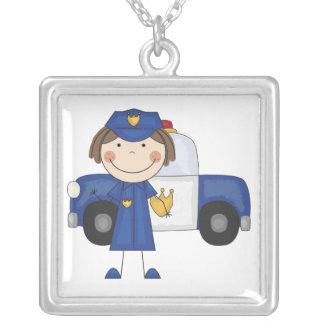 Collar femenino del oficial de policía