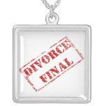 Collar final del humor del divorcio