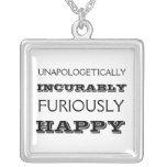 Collar furiosamente feliz