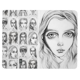 Collar Girl Notebook Journal