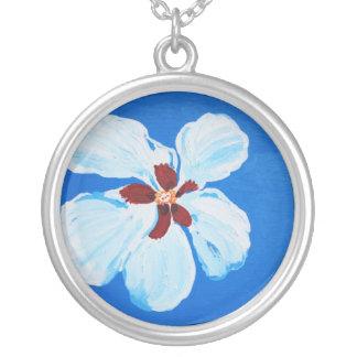Collar hawaiano de la flor del hibisco