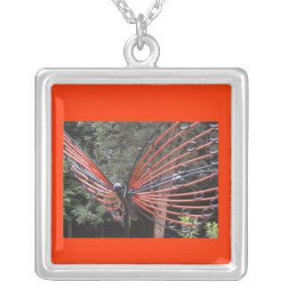 Collar hermoso de la mariposa