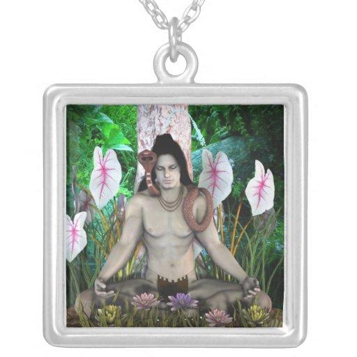 collar hindú de dios del shiva
