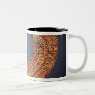 Collar in the form of the vulture goddess Two-Tone coffee mug
