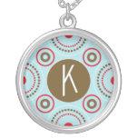 Collar inicial del monograma K