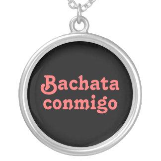 Collar latino del baile de la salsa de Bachata Con