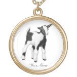 Collar lindo adaptable de la cabra del bebé