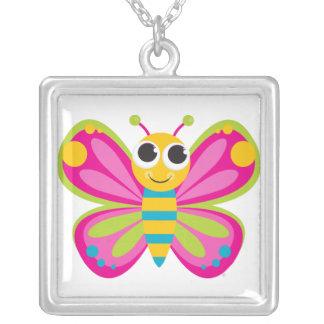 Collar lindo de la mariposa