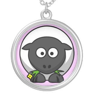 collar lindo de las ovejas