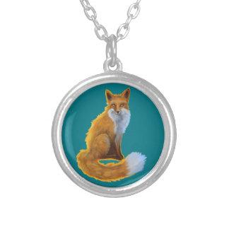 Collar lindo del Fox del arbolado