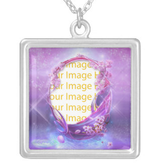 Collar mágico del marco de la foto de la fantasía