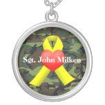 Collar militar del veterano de guerra