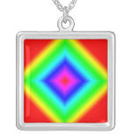 Collar multicolor de la plata esterlina del arco i