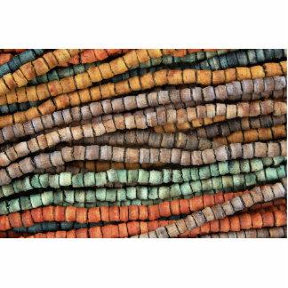 Collar multicolor esculturas fotograficas