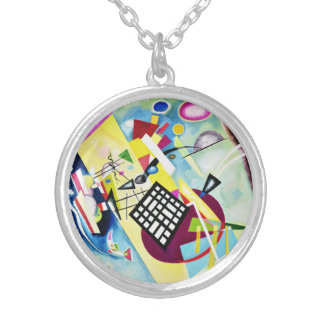 Collar negro de la rejilla de Kandinsky
