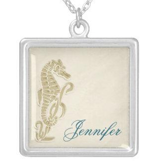 Collar nupcial del regalo del fiesta del Seahorse