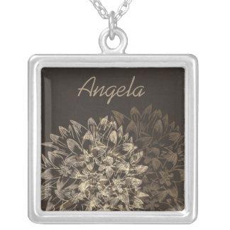 Collar nupcial floral elegante del regalo del