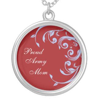 Collar orgulloso de la mamá del ejército