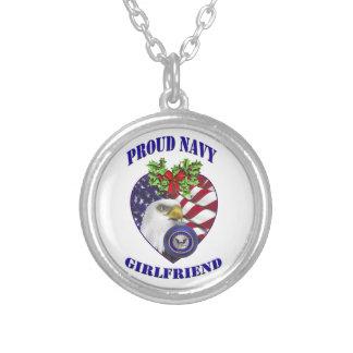 Collar orgulloso de la novia de la marina de guerr
