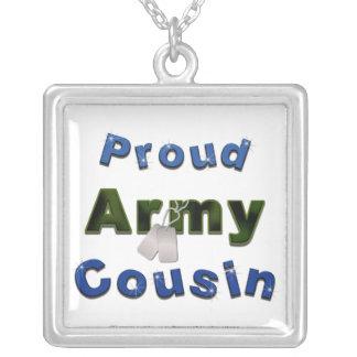Collar orgulloso del azul del primo del ejército